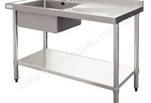 Stainless Steel Single Bowl Sink DN753 Vogue1200mm