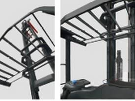 NSW Dealer SIT-ON REACH FORKLIFT TRUCK FBRF Series / Narrow Aisle forklift - picture3' - Click to enlarge
