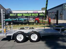 14ft Plant Machinery Trailer 4.5 Tonne Tandem Axle - picture1' - Click to enlarge