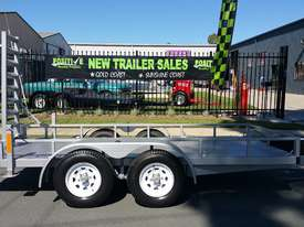 14ft Plant Machinery Trailer 4.5 Tonne Tandem Axle - picture0' - Click to enlarge