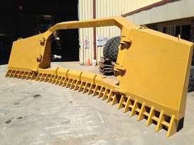 BEDROCK DI FOLDING STICKRAKE Rake Attachments - picture0' - Click to enlarge
