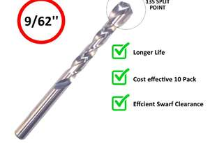 INSIZE DRILL BIT PACK OF 5 IN0125 - 9/62''