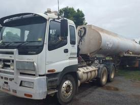 2000 ISUZU GIGA EXY SEMI WITH WATER TANKER