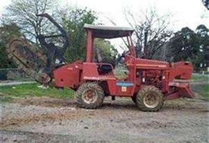 5020 , 4wheel steer , side shift trencher , 59hp  ,