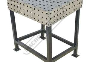 FBL6060-M CertiFlat fabBLOCK 3D Welding Table 600 x 600 x 860mm (LxWxH) Tab & Slot U-Weld