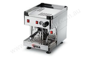 Wega EPU1PRP Mini Nova Plumbed 1 Group Semi-Automatic Coffee Machine