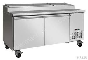 F.E.D. TPP67 Tropicalised Two Door Pizza Prep Fridge
