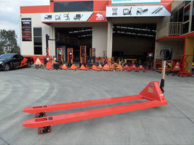 2.4m Extra Long Pallet Jack - picture0' - Click to enlarge