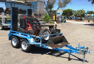 LOW HOUR DINGO MINI LOADER TRAILER PACKAGE WITH AT