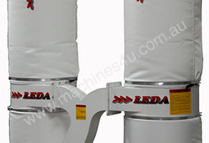 LEDA CT-213. Twin Bag. 3hp single and three phase