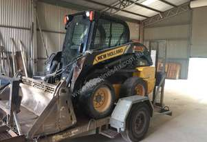 New Holland Skid steer with Air Con