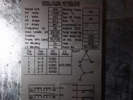 New Tyree 3 phase distribution 500kva transformer 11KV - 43 ...