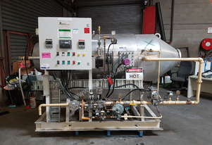 2 x Industrial Air Heaters (gas fired, 200 kW)