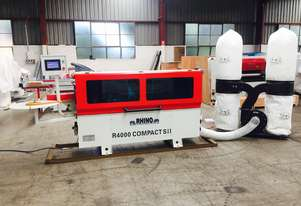 USED RHINO R4000 COMPACT SII EDGEBANDER *INCL. TWIN BAG DUST COLLECTOR*