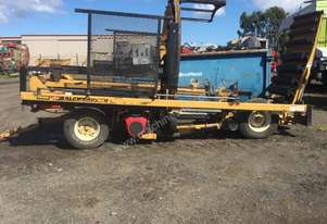 Tube-Line TL 5500 Bale Wrapper Hay/Forage Equip