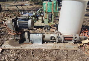 MONO PUMP - 3 phase and working condition