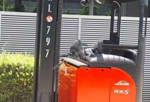 Used Forklift: R16HD Genuine Pre-owned Linde 1.6t