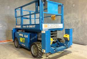 GENIE GS-2668 RT ROUGH TERRAIN SCISSOR LIFT - with hydraulic legs *mine spec*