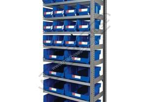 MSR-24E Industrial Modular Shelving Expansion Package Deal 898 x 465.4 x 2030mm Includes 16 x BK-210