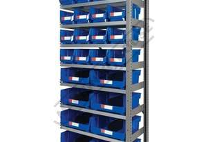 MSR-24E Industrial Modular Storage Shelving Expansion Package Deal 898 x 465.4 x 2030mm Includes 16