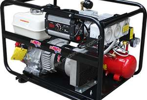 Dunlite 4.4kVA Welder Generator Workstation, powered by Honda