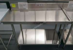 SIMPLY STAINLESS Stainless Steel Dishwasher Right Outlet Bench 1200mm Ex Demo 40% OFF