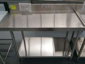 SIMPLY STAINLESS Stainless Steel Dishwasher Right Outlet Bench 1200mm Ex Demo 40% OFF - picture0' - Click to enlarge