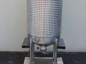 Stainless Steel Dimple Jacketed Mixing Tank - picture0' - Click to enlarge