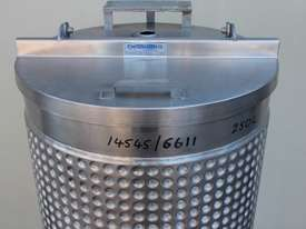 Stainless Steel Dimple Jacketed Mixing Tank - picture2' - Click to enlarge