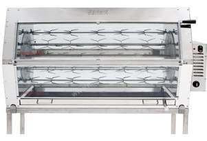 Semak M30 Manual Electric Rotisserie - 30 Birds