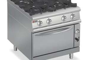 Baron 7PCF/GE8005 Four Burner Gas Cook Top with Electric Oven