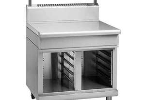 Waldorf 800 Series BT8900S-CB - 900mm Bench Top With Salamander Support `` Cabinet Base