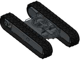 NEW SAMPIERANA 2T EXPANDABLE EXCAVATOR TRACK UNDERCARRIAGE - picture1' - Click to enlarge