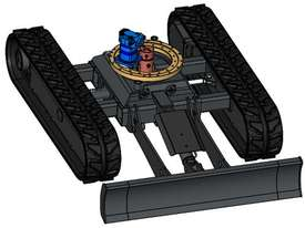 NEW SAMPIERANA 2T EXPANDABLE EXCAVATOR TRACK UNDERCARRIAGE - picture2' - Click to enlarge