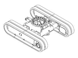 NEW SAMPIERANA 2T EXPANDABLE EXCAVATOR TRACK UNDERCARRIAGE - picture6' - Click to enlarge