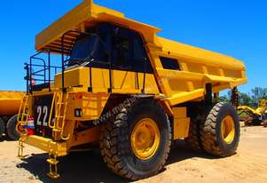 Caterpillar Cat 773D Dump Truck.