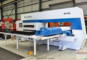 IN STOCK. New Yawei HPE-3058 Servo Drive CNC Turret Punch Press