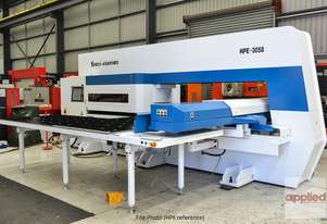 New Yawei HPE-3058 Servo Drive CNC Turret Punch Press. Siemens 840D and more.