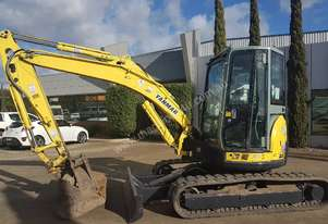 2008 YANMAR VIO55-5 WITH FULL CABIN, HITCH AND BUCKETS