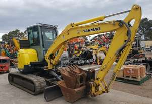 2011 YANMAR VIO55-5 WITH FULL CABIN, HITCH AND BUCKETS