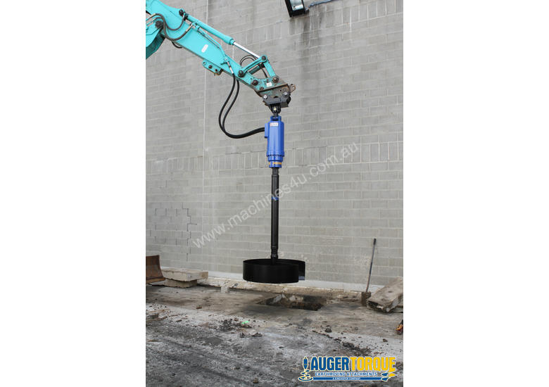 New Auger Torque Auger Drive - 25000MAX (S6) Earth Drill to suit 20-25T Excavator