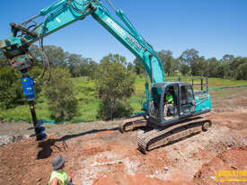 New Auger Torque Auger Drive - 25000MAX (S6) Earth Drill to suit 20-25T Excavator - picture3' - Click to enlarge