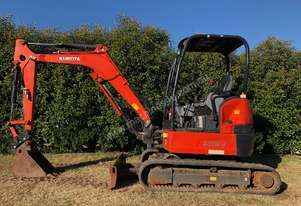 Kubota U35-4 Zero Swing for Sale, New Quick Hitch