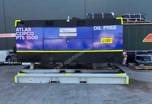 Atlas Copco PTS1500, 8 bar Oil Free Diesel Air Compressor 1500cfm, 3 month warranty.