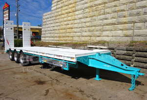 Interstate Trailers Tri Axle Tag Trailer Aqua Blue ATTTAG