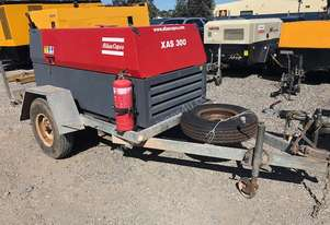 2009 Atlas Copco XAS300, 300cfm with After Cooler Diesel Air Compressor