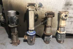 Grundfos Vertical multistage pumps