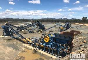 2012 Pilot Crushtec Modular Fixed Crushing & Screening Plant