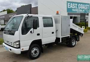 2005 ISUZU NPR 400 Dual Cab Tipper Service Vehicle