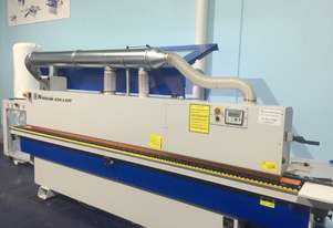 Heavy Duty Edgebander NikMann KZM6-cnc-v32 with pre-milling, corner rounder and return conveyor